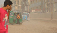Chittagong city continues to suffer from acute dust pollution