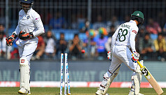 India in command as Tigers falter