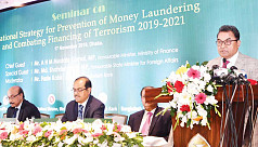 Money laundering destroying country,...