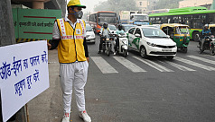Delhi banishes some cars in hope of...