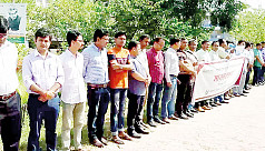PUST students continue protest for VC's...