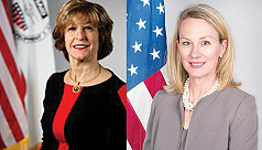 Two senior US officials due today,...