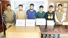 5 Chhatra League men held over assault on Rajshahi Polytechnic principal