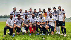 Shakib returns to pitch, but with football...