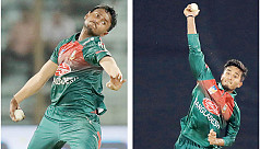Rookie spinners shine in Shakib's absence