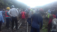 Rail services resume after 7 hours