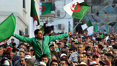 Algerians stage mass protest on anniversary...