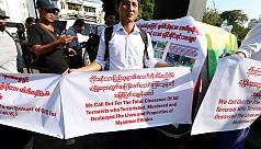 Israel says envoy's 'Good Luck' to Myanmar...