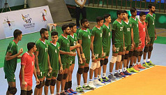 Bangladesh, Pakistan in volleyball...