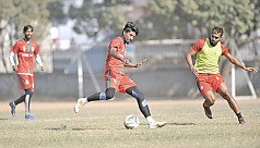 Bangladesh face Bhutan in football...