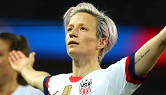 Rapinoe completes honours sweep at Ballon d'Or