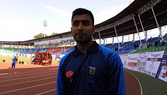 Mahfuzur earns maiden high jump medal for Bangladesh in SA Games