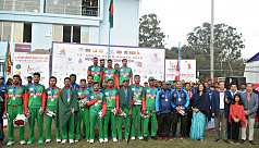 SAG2019: Bangladesh U-23 win gold in cricket