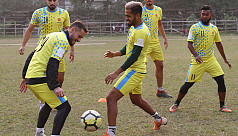 How are Abahani preparing for AFC Cup...