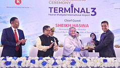 PM inaugurates construction of Dhaka airport's 3rd terminal