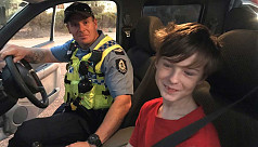 Australian boy, 12, drives brother's...