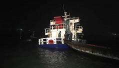 Clinker-laden cargo vessel collides with a launch in Kirtankhola River