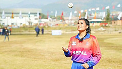 Nepal claims T20 cricket bowling...