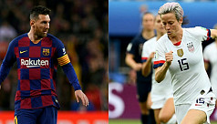 Messi,Rapinoe expected to take Ballon d'Or honours