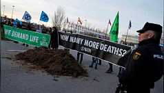 Frustrated with climate talks, activists...