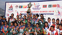 SAG2019: Tigresses clinch gold in cricket...