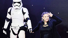 Star Wars bows after 42 years as Carrie...