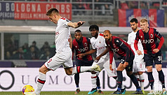 Milan win at Bologna after Hernandez scores at both ends