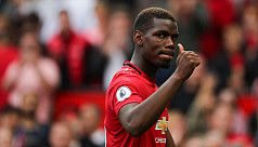 Pogba in high spirits after successful...