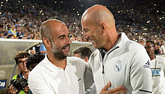 Zidane says Guardiola best coach in...