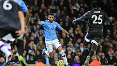 Man City keep faint title hopes alive,...