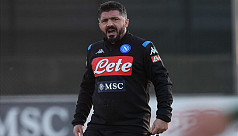 Napoli name Gattuso as coach to replace...