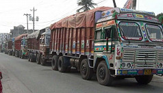 Severe traffic jam disrupts trade, daily...