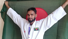 SAG2019: Karateist Al Amin delivers Bangladesh second gold