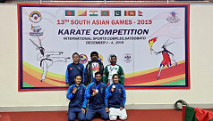 Bangladesh karate blooms again