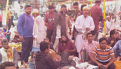 Jute mill workers suspend hunger strike...