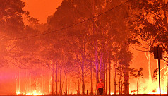 Australia uses bushfires breather to...