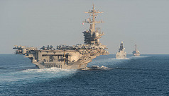 US warship in Gulf seizes missile parts of suspected Iran origin
