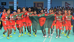 Men's kho kho team win silver
