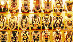 Gold prices cross Tk60,000 mark