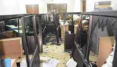 Daily Sangram office vandalized
