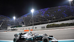 Hamilton wraps up season with master-class in Abu Dhabi