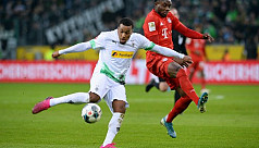 Bayern seventh after Gladbach loss