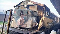 9 injured as train rams into truck,...
