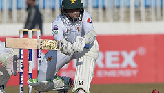 Pakistan's Abid, Azam hit tons to brighten drawn Test