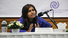 1st Bangladeshi female envoy to Mideast vows to promote women's cause