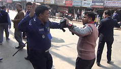 Cop assaults colleague mistaking him for BNP man in Moulvibazar