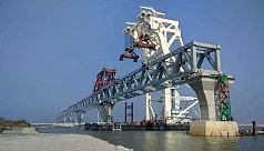 20th span of Padma Bridge installed