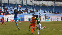 Sluggish booters lose to Bhutan