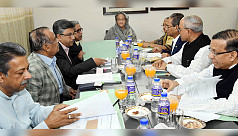 PM chairs Bangabandhu Memorial Trust meeting