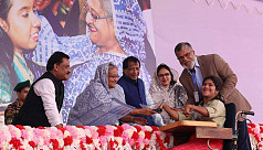 PM: Support centre for specially-abled in each upazila